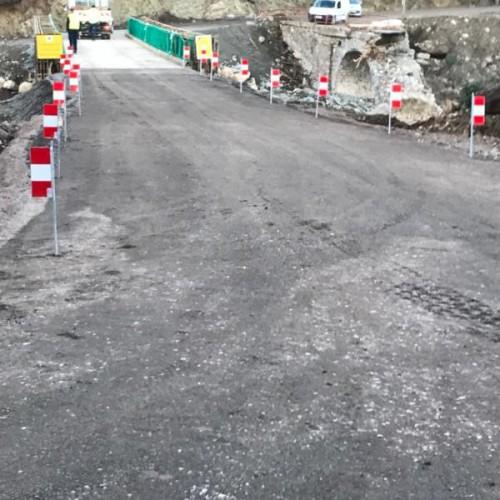 Le pont de Casaluna est ouvert
