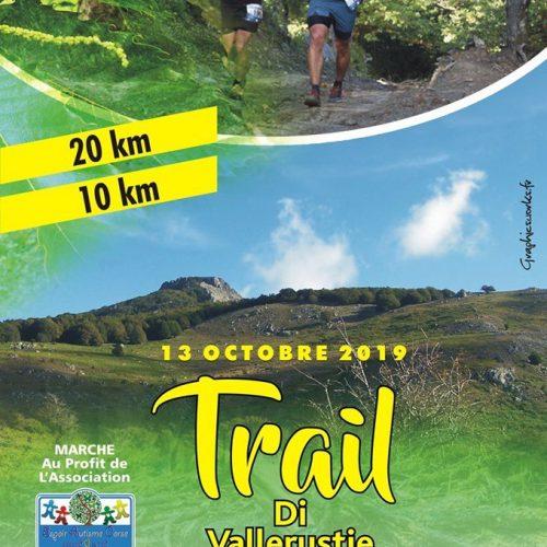 Trail de Vallerustie le 13 octobre