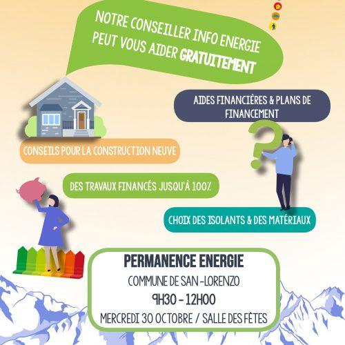 Énergie : rendez-vous le 31 octobre !